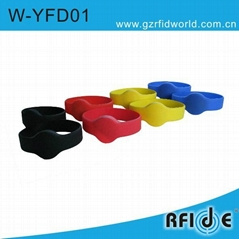 RFID silicone wrist tag