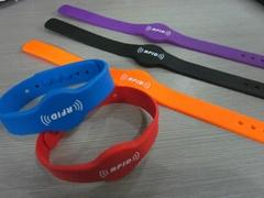 High quality Silicone wristband rfid tag