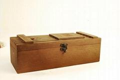 wooden gift box for wine bottle