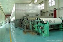 Large-scale paper machine