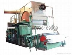 High speed paper machine