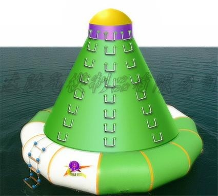 Inflatable water recreation facilities 1