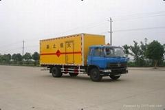 青海东风平头6吨145爆破器材运输车