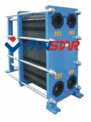 内蒙古电炉冷却板式换热器