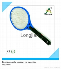 LED  rechargeable mosquito swatter (CHLJ-A003)