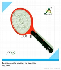 CHLJ-A005 rechargeable  mosquito  swatter