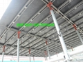 fast-installed steel scaffolding system