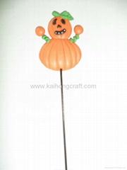 Pumpkin decoration for halloween's day