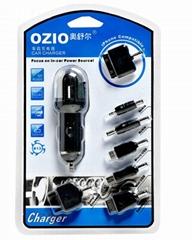 OZIO奥舒尔七合一车载充电器
