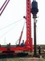 導杆式柴油錘打樁機