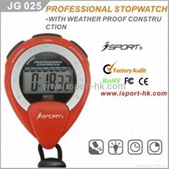 Chronograph Digital Timer Stopwatch Sport Counter Watch