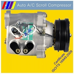 AC automotive scroll compressor FOR JINBEI HAISE