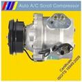 automotive AC scroll compressor FOR