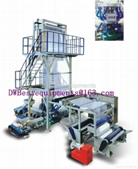 ABCThree-Layer Co-Extrusion Blowing Film Machine / Film Extrude