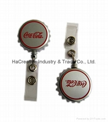 retractable yoyo badge reel, ID card holder