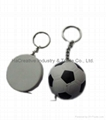 Football shape Tape measure with key