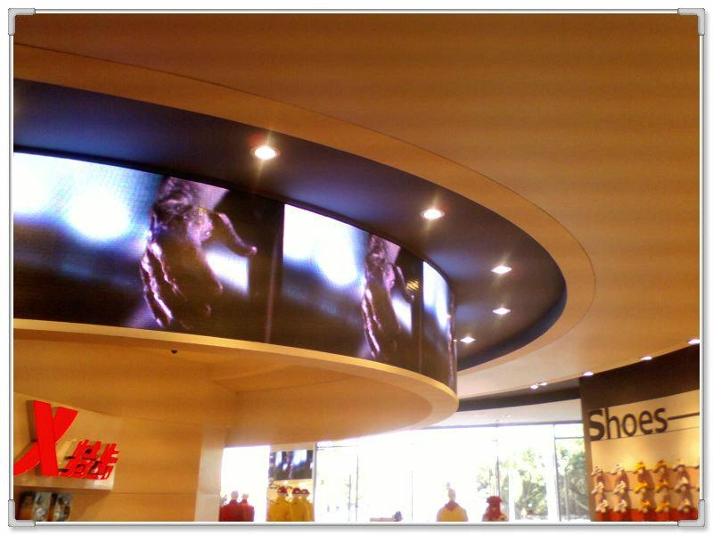 New product P10 semi-outdoor full color led video wall  1