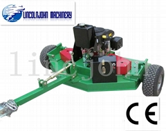 Remote electric start CE certificated finish mower