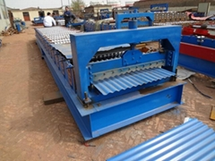 Corrugated Tile Roof Forming Machine