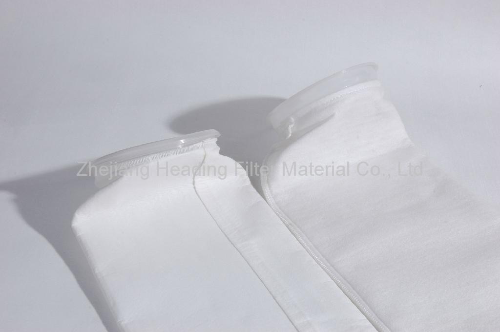 Non woven miron filter fabric water liquid filter cloht filter bag 1