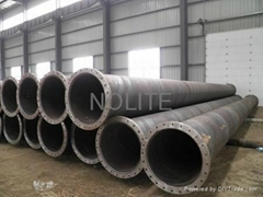 spiral steel pipe with flanges