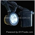 led mine luminaire corded cap lamp headlamp