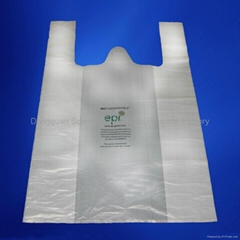 Biodegradable t-shirt bag