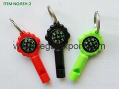 whistle Compass multi-function compass