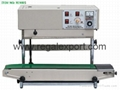 continue band sealing machines for
