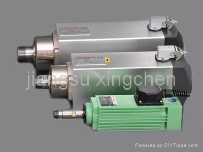 machining center spindles electric motor high frequency