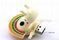 Christmas gift USB flash drive. promotional flash sticks