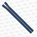 5# Brass zipper close end YG slider