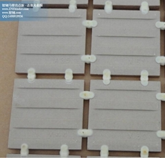 Dotmounting adhesive for ceramic wall tile