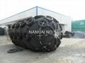 Floating pneumatic rubber fender (yokohama type)