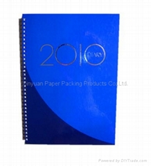 Calendar diary notebook