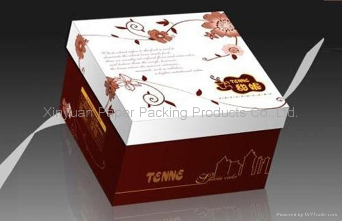 High quality hard cover cardboard paper gift box - Xiinyuan (China ...