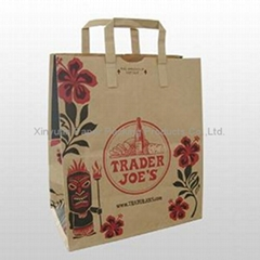 Brown kraft paper bag