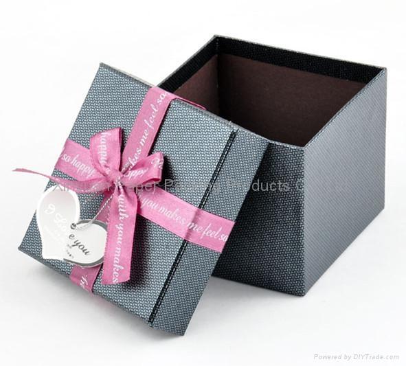 High quality hard cover cardboard paper gift box - Xinyuan (China ...