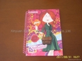 Hardcover spiral notebooks for girls 1