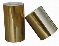 Bright Gold PET Adhesive Films
