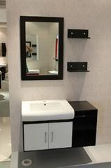 wall monted mirror pvc bathroom furniture