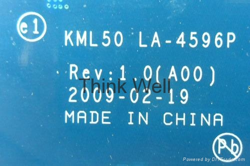 V1520 KML50 LA-4596P LAPTOP MOTHERBOARD FOR DELL FREE SHIPPING 3