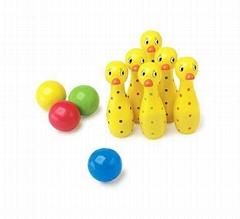 Duck Skittles Game