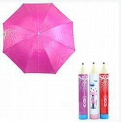 Pen advertising umbrella