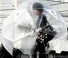 PVC advertising umbrella