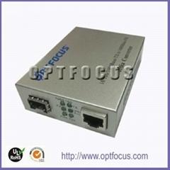 10/100/1000M Ethernet Fiber Media Converters