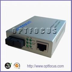 10/100M Singlemode Single Fiber Media Converter.