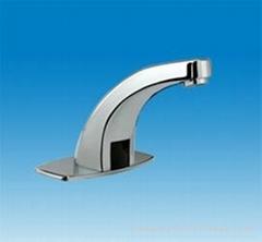 public automatic infrared sensor tap