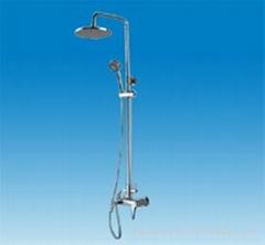 Shower sets shower panel with accessories bathroom sanitaryware YA-85004