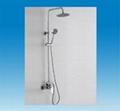 Shower sets shower panel with accessories bathroom sanitaryware YA-85004 5